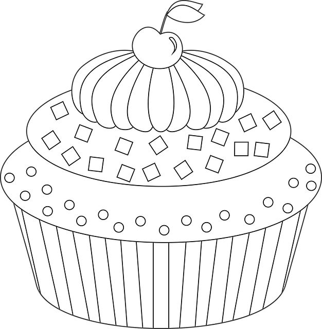 165 best adult coloring pages images on pinterest dragon for Coloring pages of cakes and cupcakes