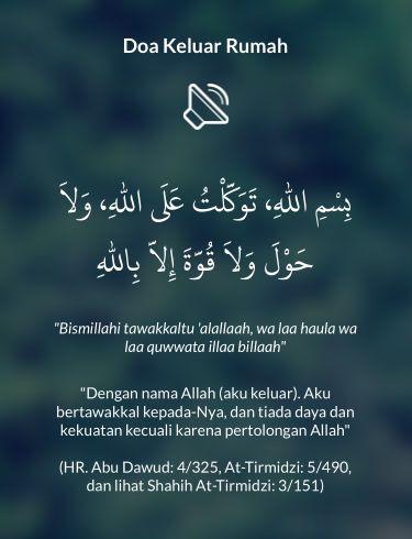 Doa Keluar Rumah shared from #DoaHarianApp for iOS