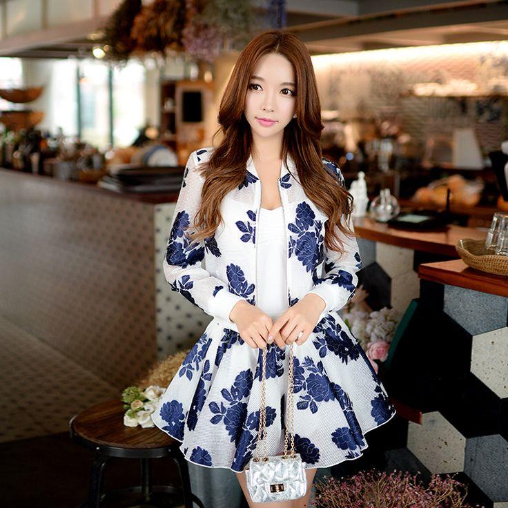 Aliexpress.com: Compre Original primavera 2017 nova Coreano moda de todos os jogo jacquard fina perna larga calções saia de confiança fashion skirt fornecedores em DABUWAWA Trade Co.,Ltd