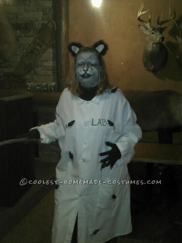 Creative Lab Rat Halloween Costume... Coolest Halloween Costume Contest