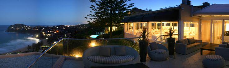 Twilight from the balcony #Jonah's