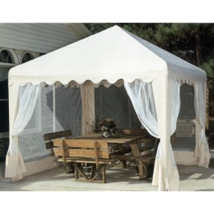 King Canopy 10 x 10 ft. Garden Party Gazebo Canopy - Canopies at Canopy Center