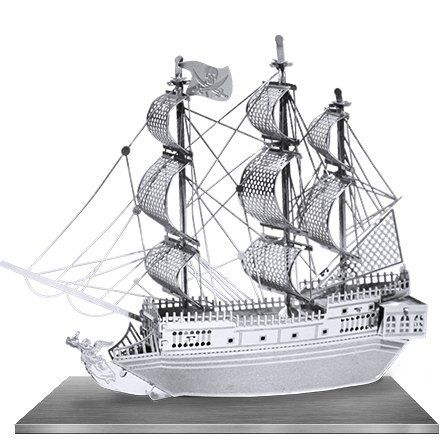 Metal Works The BLACK PEARL Pirate Ship 3D Laser Cut Model puzzle replica - http://www.tutorfrog.com/metal-works-the-black-pearl-pirate-ship-3d-laser-cut-model-puzzle-replica/  #Toys #Coolproducts #Bestsellers