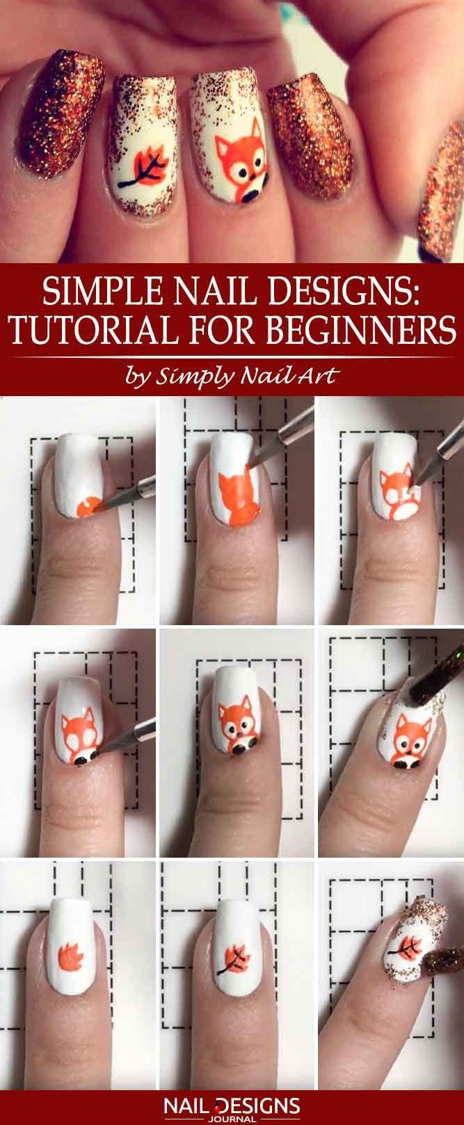 Foxy Nails: The Hottest Trend of This Fall ★ See more: https://naildesignsjournal.com/foxy-nails-tutorials-trendy-art/ #nails