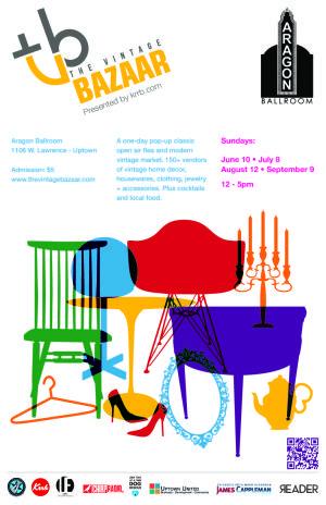 Upcoming Events - the vintage bazaar - a pop-up flea market, vintage design blog, & TV channel