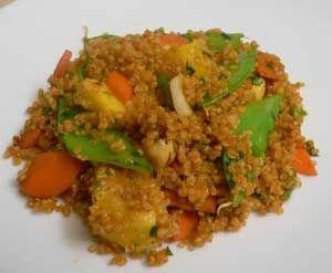 Red Curry Quinoa Recipe | Healthy Thai Recipes