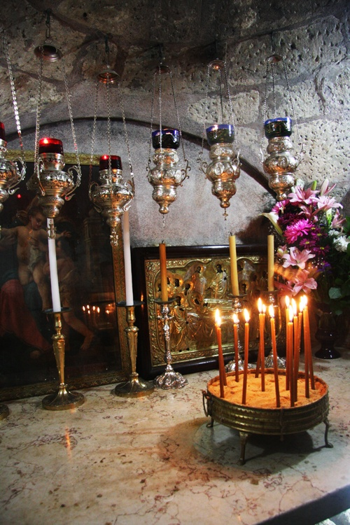 Tomb of the Virgin Mary at the foot of Mount Olives, Jerusalem, Israel