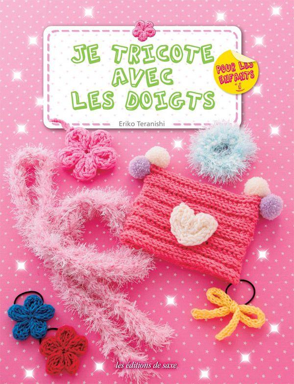 Je tricote avec les doigts, 1 livre qui permet à vous et vos enfants de s'amuser ensemble en tricotant avec les doigts.  http://www.magiedelalaine.com/autres-livres/249-je-tricote-avec-les-doigts.html