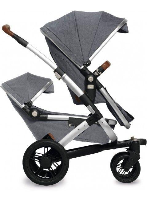 Kinderwagen für Zwillinge: Joolz Geo Studio Gris Twin Zwillingskinderwagen Set S. Mehr Infos auf https://www.kleinefabriek.com/.