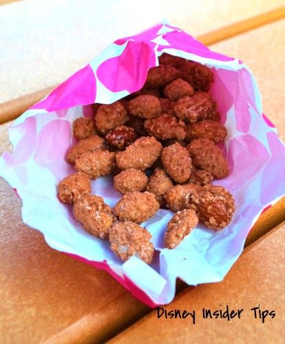 Cinnamon & Sugar Almonds recipe made in a crock pot! Just like the ones you get at Blizzard Beach in Disney World. Super simple recipe for these yummy nuts.
