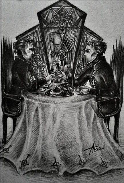 ghost fan art. nameless ghoul | GHOST | Ghost papa, Ghost ...