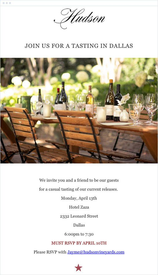 23 best Event Invitation Emails images on Pinterest Best email - email invitations
