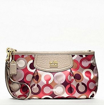 LOVE this #Coach wristlet!