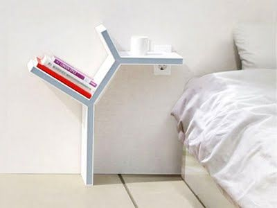 MESITAS DE NOCHE PARA EL DORMITORIO : Dormitorios: Fotos de dormitorios Imágenes de habitaciones y recámaras, Diseño y Decoración