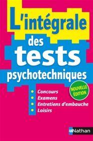 L'integrale des tests psychotechniques 2016 - SIMONIN ELISABETH  RDC 351.31 PSY
