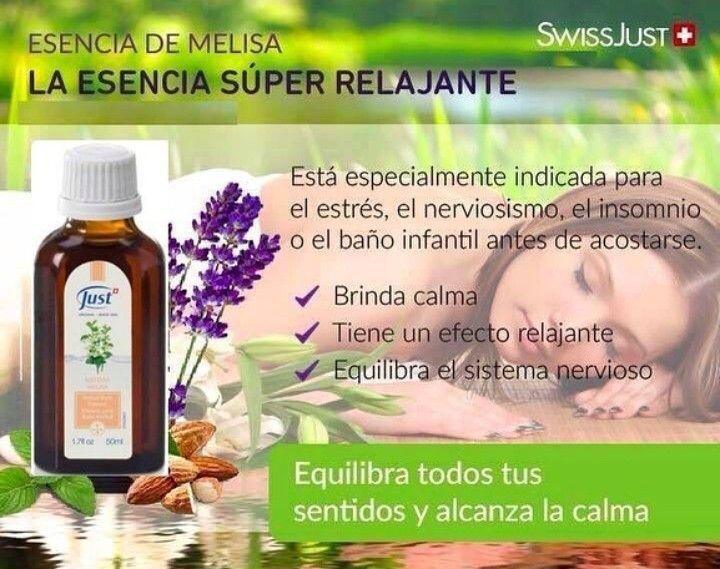 Esencia De Melisa Recetas De Aromaterapia Aceites Para La Piel Productos Para La Salud