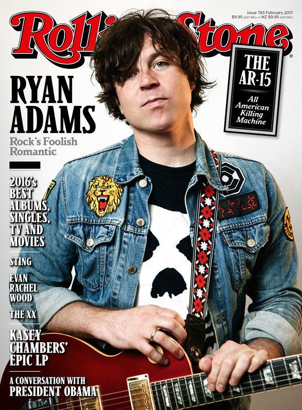 Bucket List ✯ Ryan Adams in concert! Completed October 3, 2017 at The Steifel Theater for the Performing Arts, Salina, KS.