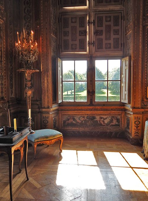Int rieur ch teau de vaux le vicomte le de france for Interieur french