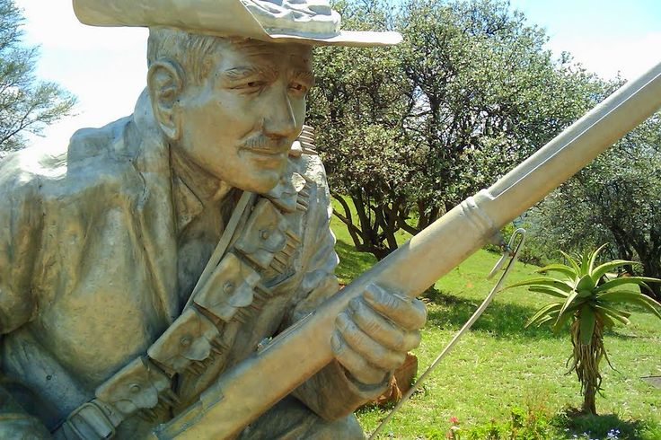 Danie Theron (1872-1900) Hendrik van den Berg on November 27, 2010 Danie Theron (1872-1900) The original fiberglass statue of top scout, Danie Theron, was unveiled at the Danie Theron Combat school in Kimberley. Since then, the statue lost its purpose in Kimberley because the Combat School has been disbanded