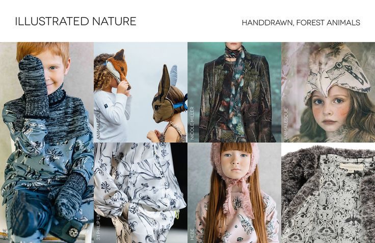 Kid's Wear - Trend Fall/Winter 16-17_Illustrated Nature
