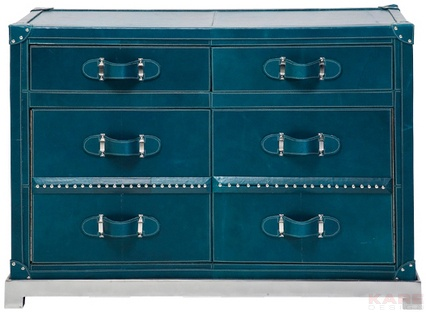 Dresser Mens World Blue 2Dr,2 Doors