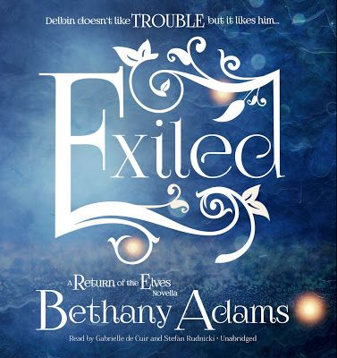 Release Day for EXILED- Audio Version by Bethany Adams.   Exiled: A Return of the Elves Novella (Audio Version)  Series: The Return of the Elves  Author: Bethany Adams  Narrated by: Gabrielle de Cuir & Stefan Rudnicki  Genre: Fantasy Romance    Purchase Here    Amazon   Audible  A willing exile  For a hundred years Delbin has lived on Earth voluntarily cut off from his birth land Moranaia. He's learned to hide his elven nature and use his mind magic without getting noticed - until he…