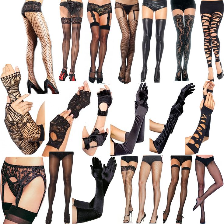 Just in new hosiery, gloves and garter belts at Ipso Facto's Fullerton, CA store