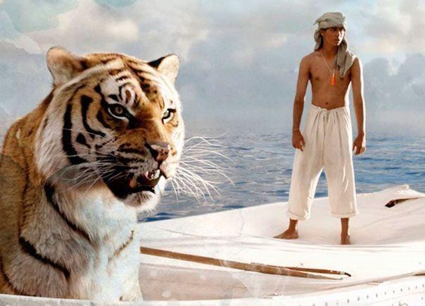 'Una aventura extraordinaria', la bellísima película de Ang Lee sobre un niño, un tigre y un bote.