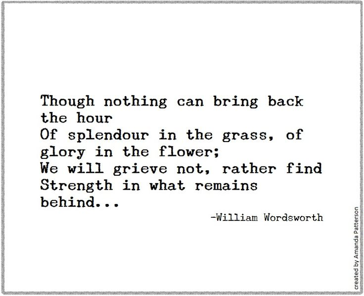 Quotable - William Wordsworth