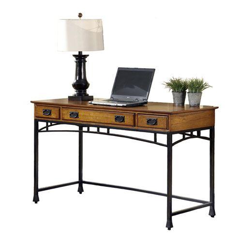 Modern Craftsman Executive Desk Home Styles Furniture Executive Desks Home…