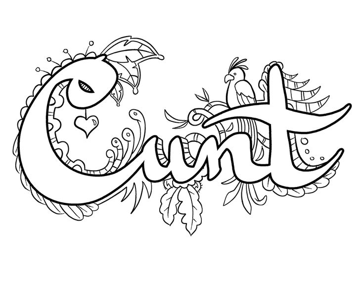 92 best curse words coloring pages images on Pinterest Coloring