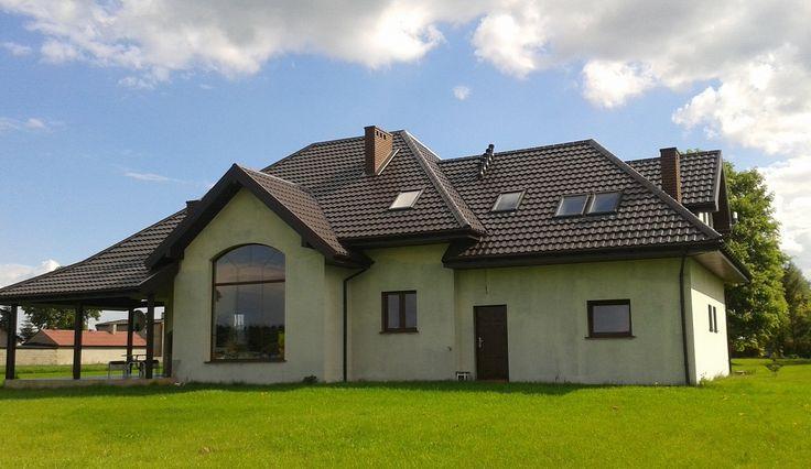 Realizacja domu Rubin  #rubin #projektdomu #budowadomu #mgprojekt #ogrod #dom
