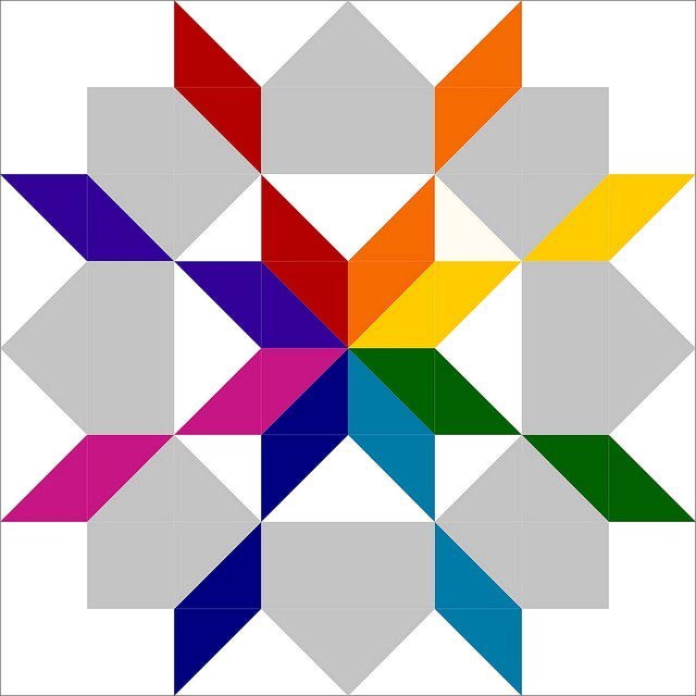 Rainbow Modified Swoon Idea | Flickr - Photo Sharing!