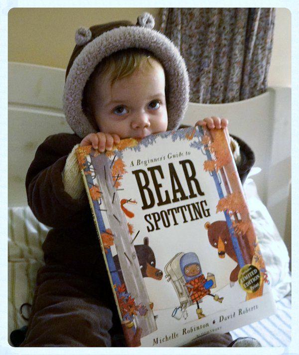 "The Catchpole Agency on Twitter: ""Happy #WorldBookDay (again)! #BearSpotting @MicheRobinson #WBD16 """