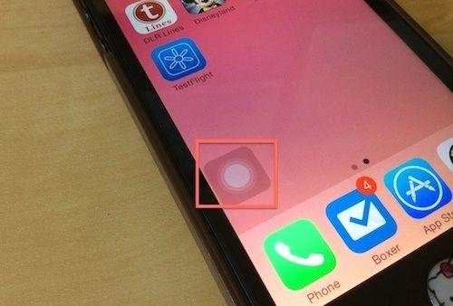 Activer l'assistive touch pour utiliser un iphone avec un bouton cassé