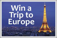 Win A Trip to Europe!
