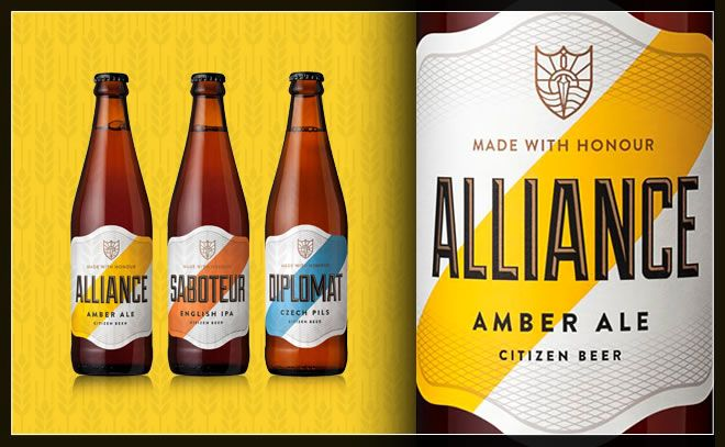 Citizen Beer, the Alliance of craft and creativity.