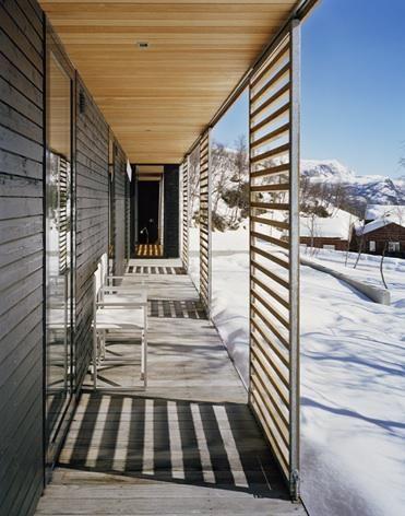 Div.A Arkitekter in Oslo; the Mountain Lodge Skarsnuten in Hemsedal, Norway