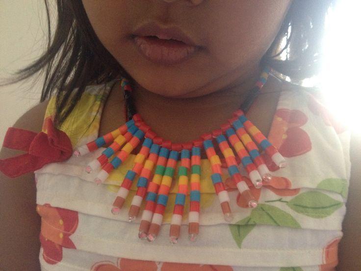 Buegelperlen necklace for your little one