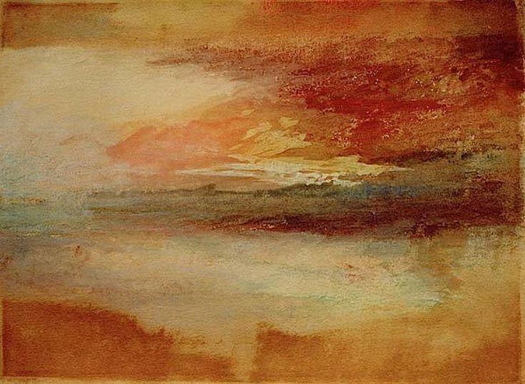 "William Turner, ""Sunset at Margate"""