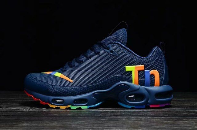 a76c750fbf5 Interesting Nike Mercurial TN KPU Navy Blue Multi-Color Men s ...