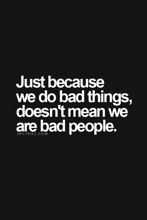"""bad people"""