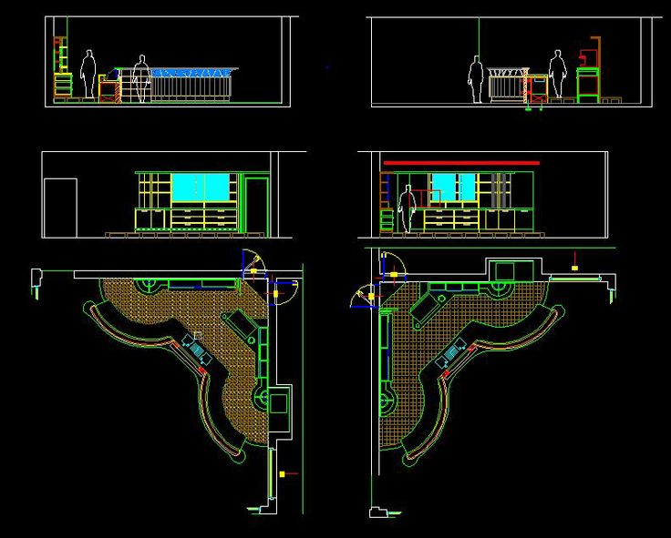 Cafeteria Dwg