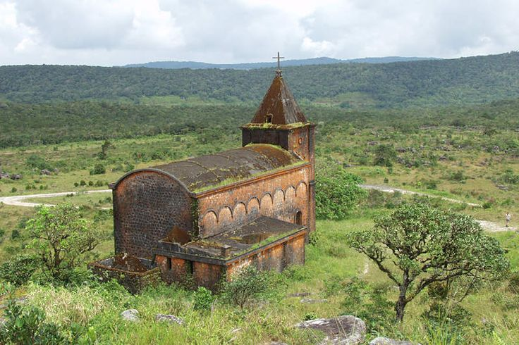 Bokor Hill Station (in Kosthany Phnom Bokor) is a French ghost town in Preah Monivong National Park, southern Cambodia.