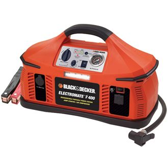 Electromate 400 AC/DC Portable Power Station /Jump-Starter /Compressor
