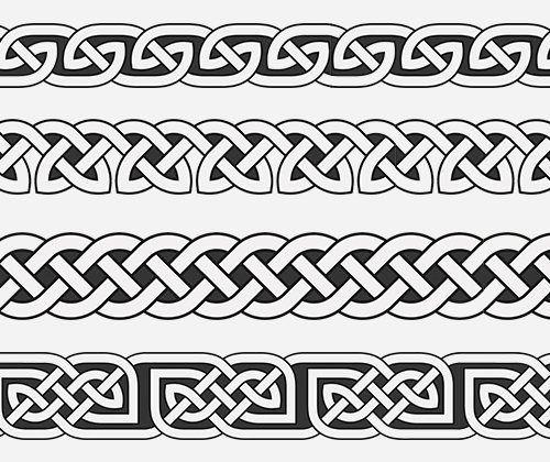 Armband tattoo celtic