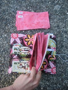 Cloth Cash Envelope Pattern