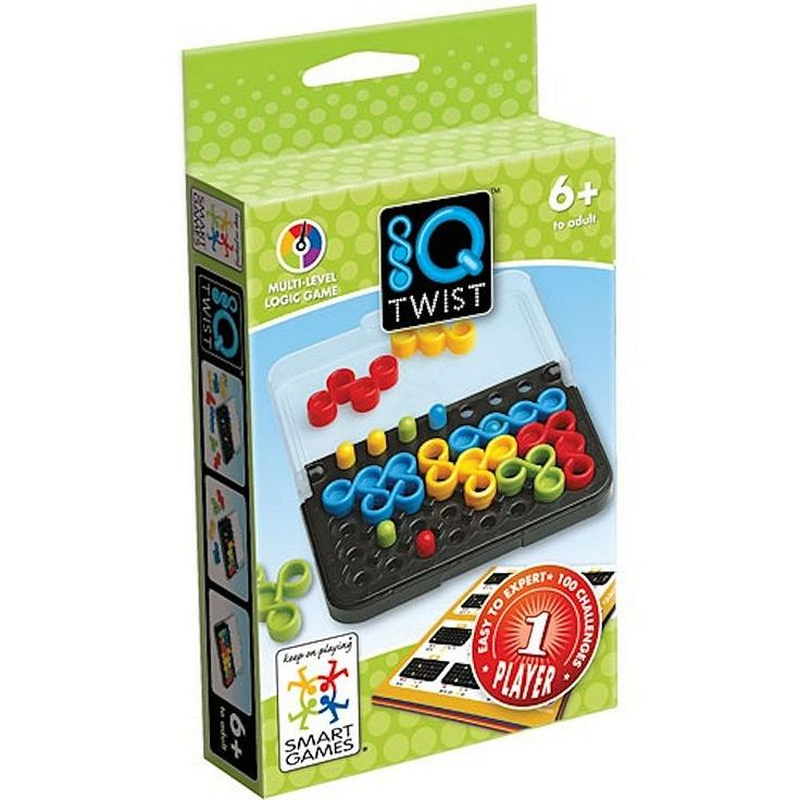 Smart Games IQ Twist Logic Game, Multicolor