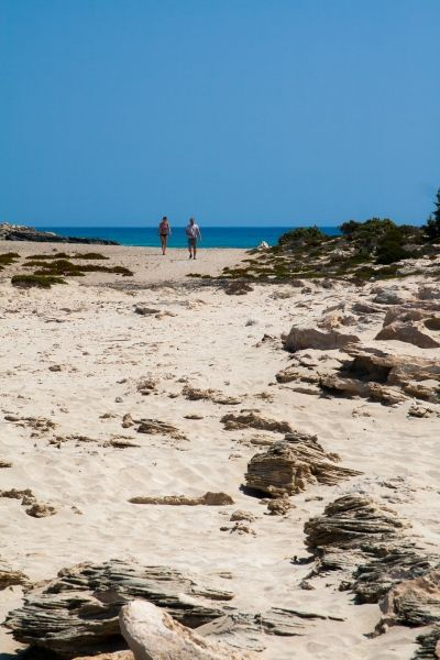 Diakoftis beach, the long walk