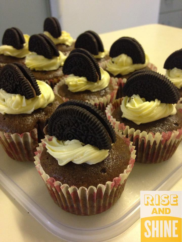Cookie-n-cream cupcakes by Sandrah Usman